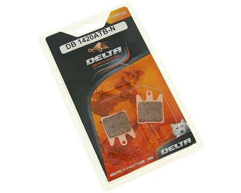 brake pads Delta Braking sintered for Hope Moto V2, Tech Evo V2, Race Evo X2