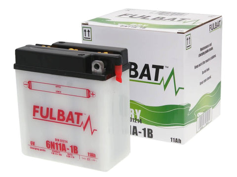 battery Fulbat 6V 6N11A-1B DRY incl. acid pack