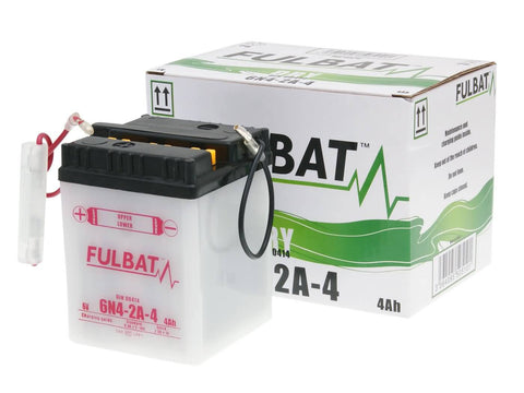 battery Fulbat 6V 6N4-2A-4 DRY incl. acid pack