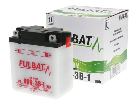 battery Fulbat 6V 6N6-3B-1 DRY incl. acid pack