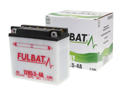 battery Fulbat 12N5.5-4A DRY incl. acid pack