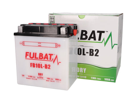 battery Fulbat FB10L-B2 DRY incl. acid pack