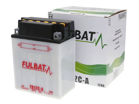 battery Fulbat YB12C-A DRY incl. acid pack
