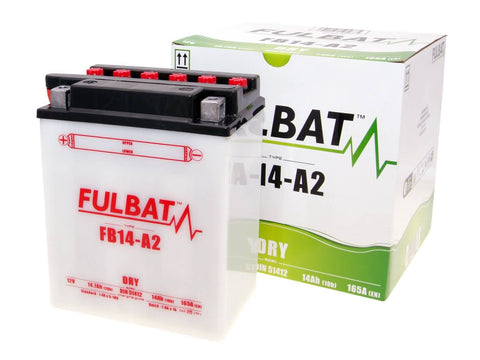 battery Fulbat FB14-A2 DRY incl. acid pack