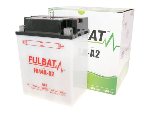 battery Fulbat FB14A-A2 DRY incl. acid pack