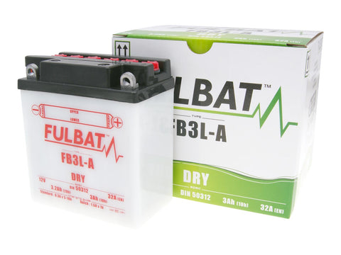 battery Fulbat FB3L-A DRY incl. acid pack