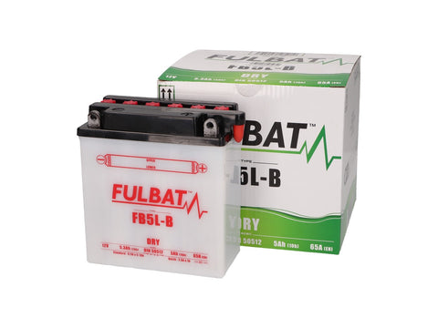 battery Fulbat FB5L-B DRY incl. acid pack