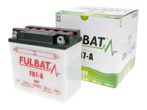 battery Fulbat FB7-A DRY incl. acid pack