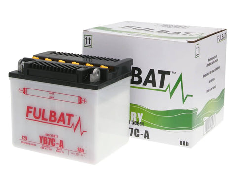 battery Fulbat YB7C-A DRY incl. acid pack