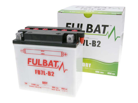 battery Fulbat FB7L-B2 DRY incl. acid pack
