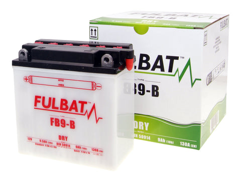 battery Fulbat FB9-B DRY incl. acid pack