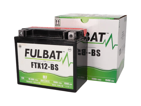 battery Fulbat FYTX12-BS MF maintenance free