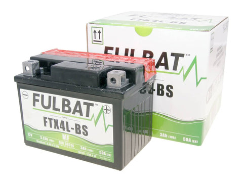 battery Fulbat FTX4L-BS MF maintenance free