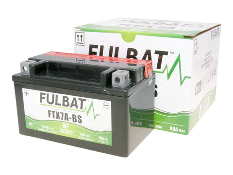 battery Fulbat FTX7A-BS MF maintenance free