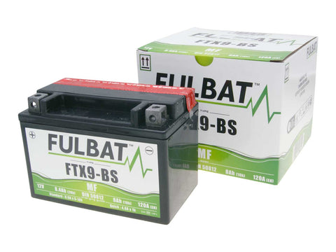 battery Fulbat FTX9-BS MF maintenance free