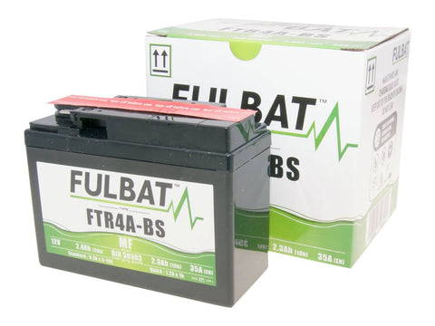 battery Fulbat FTR4A-BS MF maintenance free