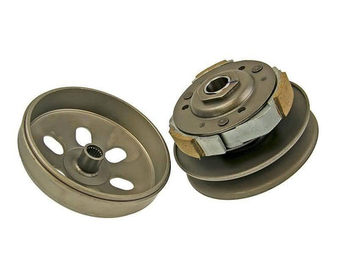 clutch pulley assy with bell for Honda, Kymco, Malaguti, GY6 125-150cc