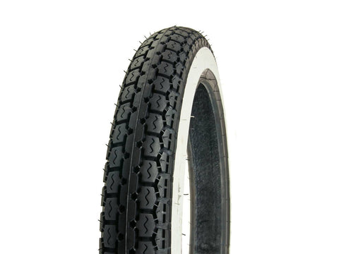 tire IRC NR-2 2.75-16 40L TT whitewall / white sidewall