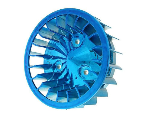 fan wheel blue for Minarelli horizontal, Keeway, CPI, 1E40QMB