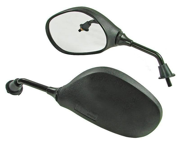mirror set M8 thread, right side mirror with left-hand thread with E-mark