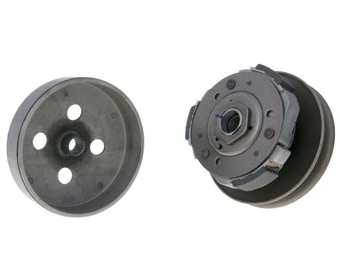 clutch pulley assy with bell for Suzuki Burgman UH 125, 150 (2007-), Sixteen 125, 150cc