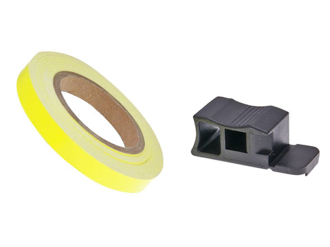 rim tape / wheel stripe 7mm - neon yellow - 600cm