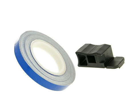 rim tape / wheel stripe 7mm - blue - 600cm
