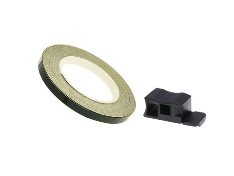 rim tape / wheel stripe 7mm - black - 600cm