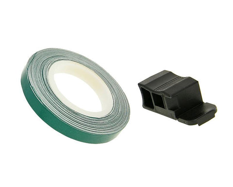 rim tape / wheel stripe 7mm - green - 600cm