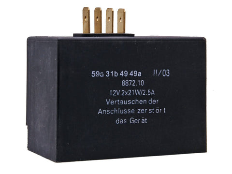charge controller / flasher relay 12V 2x21W, 2.5A for Simson S51, S52, S70, S83, SR50, SR80