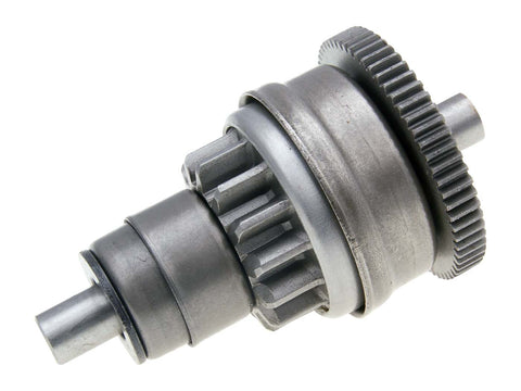 starter bendix gear / starter clutch for Aprilia, Derbi, Gilera, Piaggio 100, 125, 150 2T