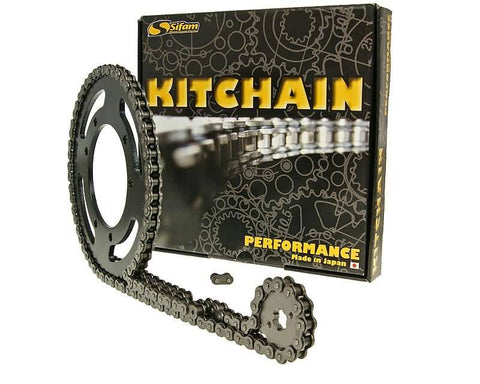 chain kit heavy duty 12/43 tooth for Aprilia RS 50 Extrema (95-98)