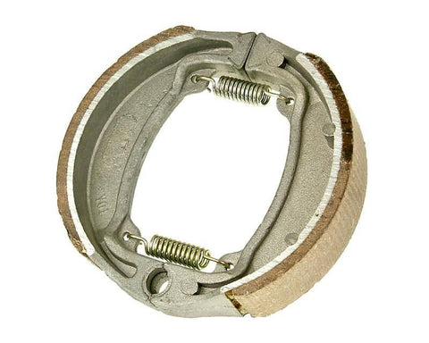 brake shoe set with springs 110x25mm