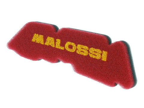 air filter foam Malossi double red sponge for Derbi, Gilera, Piaggio