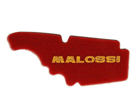 air filter foam Malossi double red sponge for Piaggio, Vespa (Leader)