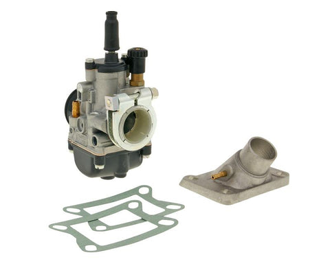 carburetor kit Malossi PHBG 21 AS with clamp fixation 24mm for Honda MB, MT, MTX