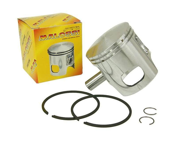 piston kit Malossi 70cc 47mm diameter, 12mm piston pin (incl. rings, clips)