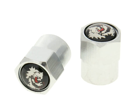 tire valve cap set Malossi chrome