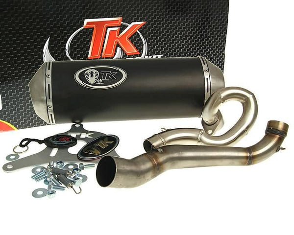 exhaust Turbo Kit GMax 4T for Suzuki Burgman 125, 150 (-06)