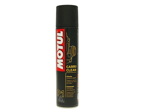Motul MC Care P1 Carbu Clean carburetor cleaner 400ml