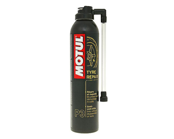 Motul MC Care P3 tire repair spray to seal / refill tires 300ml
