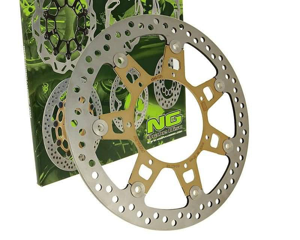 brake disc NG floating type for Rieju RS 2 50 Matrix, Malaguti Drakon 50