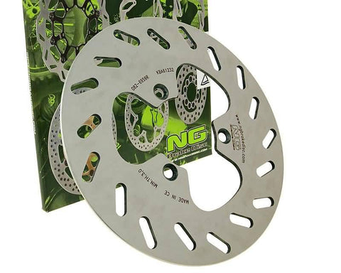 brake disc NG for Derbi Fénix EX 50, Yamaha DT 50, XT 125 X