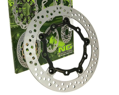 brake disc NG floating type for Yamaha X-Max, T-Max, Majesty front
