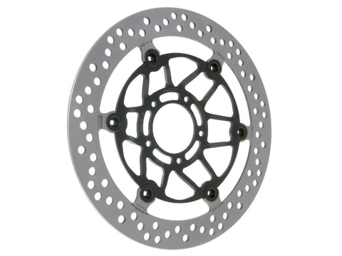 brake disc NG floating type for Kymco K-Pipe, Quannon, Sector, Stryker, Zing 125 front