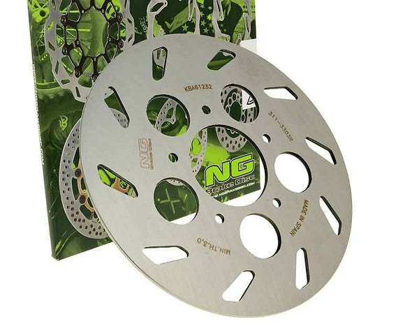 brake disc NG for Rieju RS1 50 Evolution, Castrol