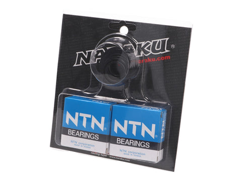 crankshaft bearings Naraku heavy duty left and right incl. oil seals for Minarelli CW, MA, MY, CA, CY
