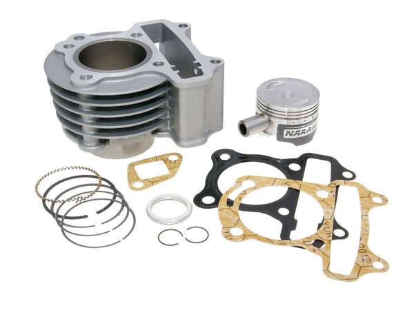 cylinder kit Naraku V.2 72cc for GY6, Kymco 50cc 2V