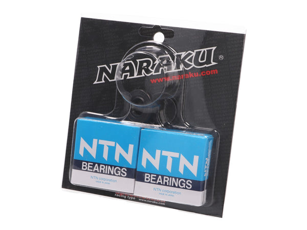 crankshaft bearings Naraku heavy duty left and right incl. oil seals for Honda X8R