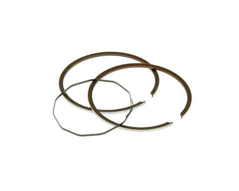 piston ring set Naraku 50cc for Naraku or original cast iron cylinder for Minarelli AM